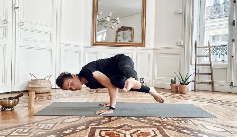 Janis professeure de Yoga